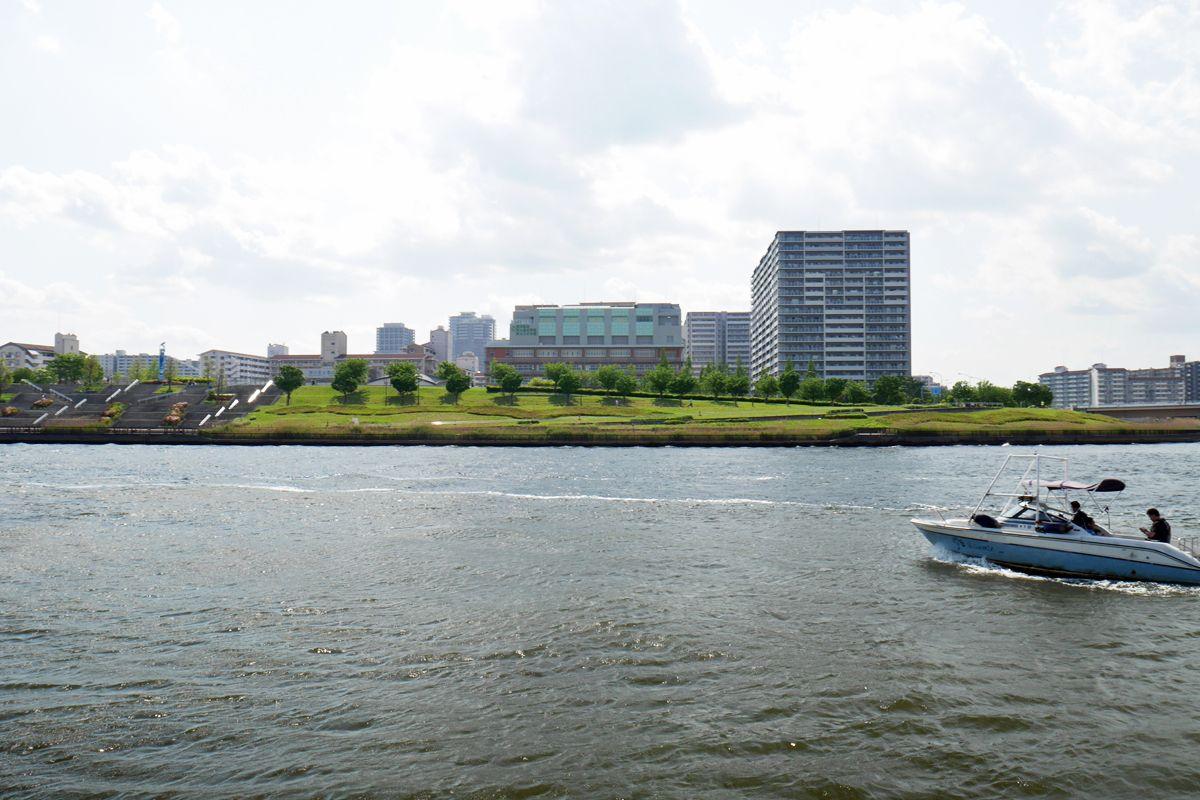 鐘ヶ淵を訪ねよう!蕩々と流れる隅田川の景観に感動!