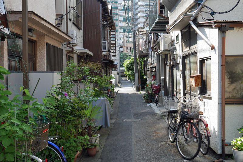 路地が迷路のように入り組む町の散策が楽しい!