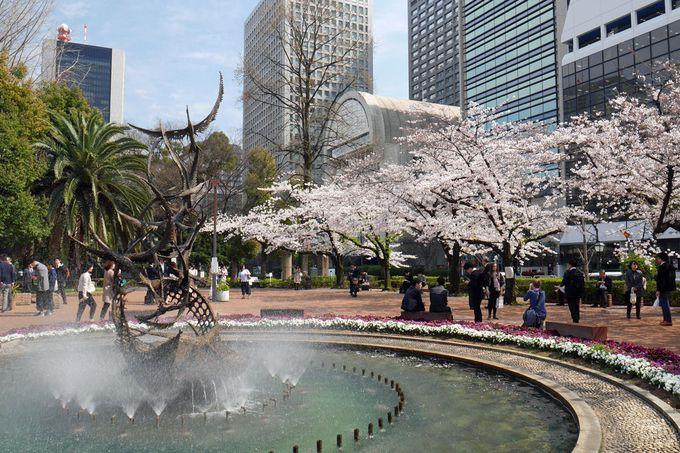 日本で最初の西洋式公園、桜に彩られた風景が美しい!
