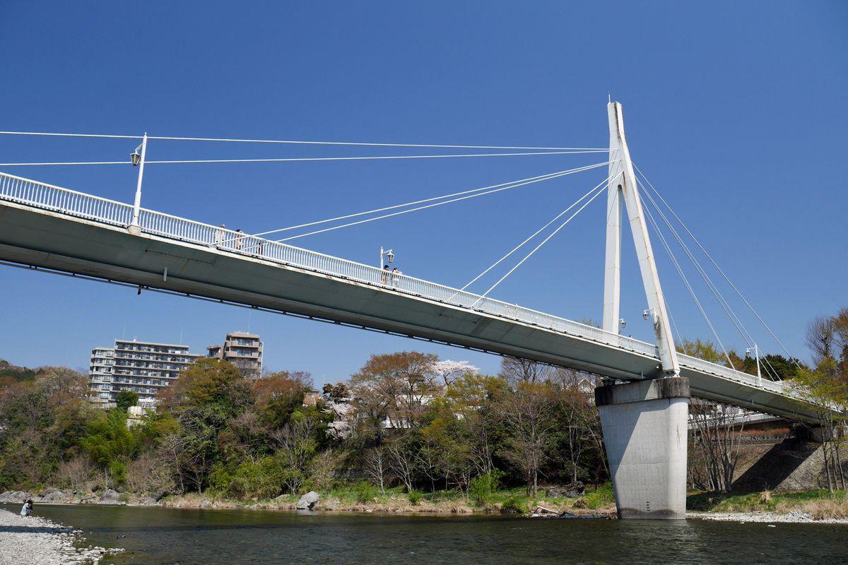 鮎美橋そのものも美しい!橋好きの人は必見!