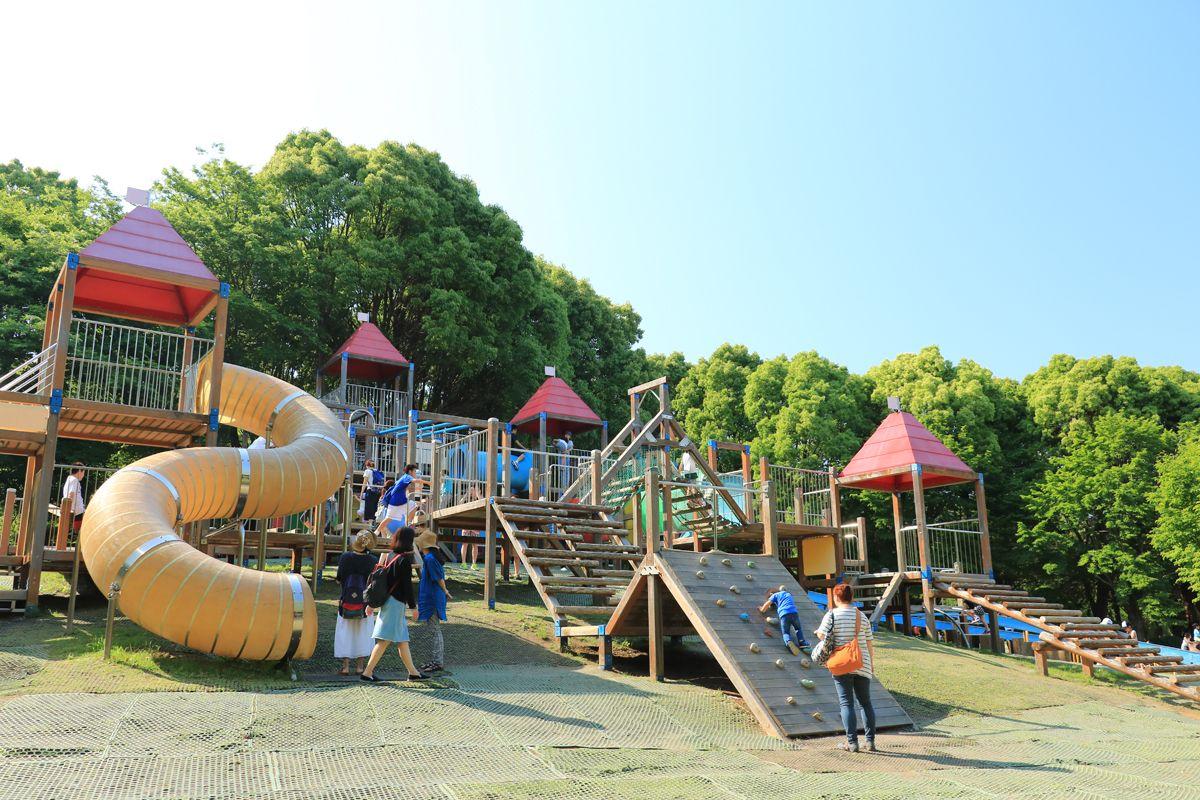 子どもたちの遊び場は特に充実!ファミリーなら一日遊べる!