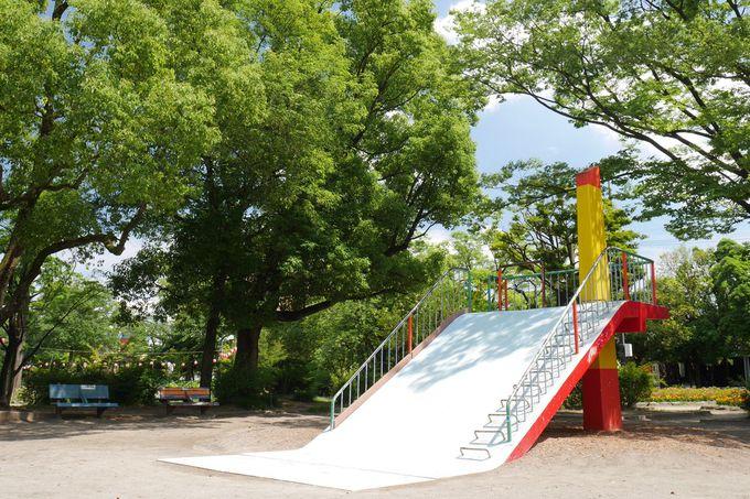 公園遊具マニア必見の滑り台
