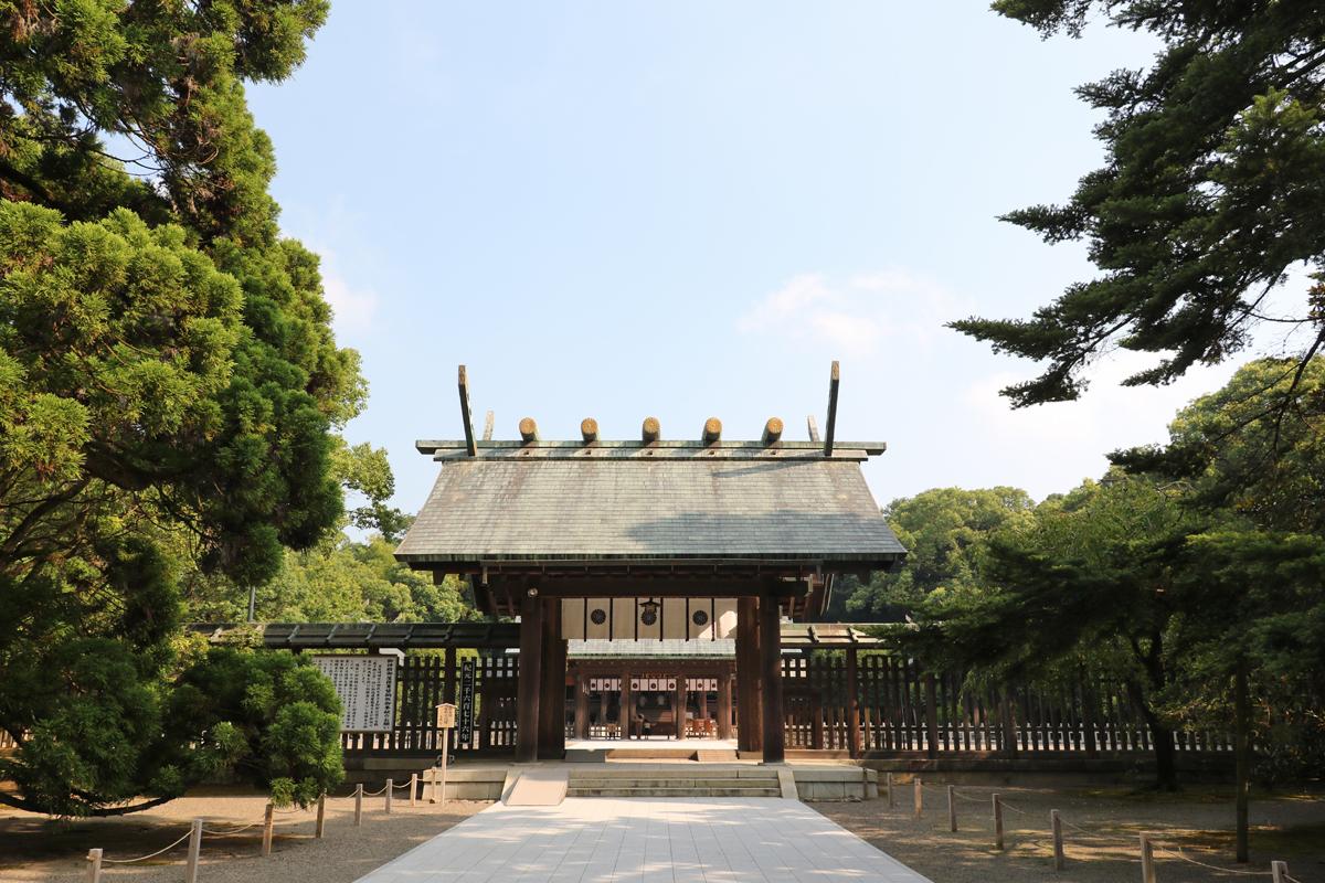 初代天皇である神武天皇を祀る「宮崎神宮」