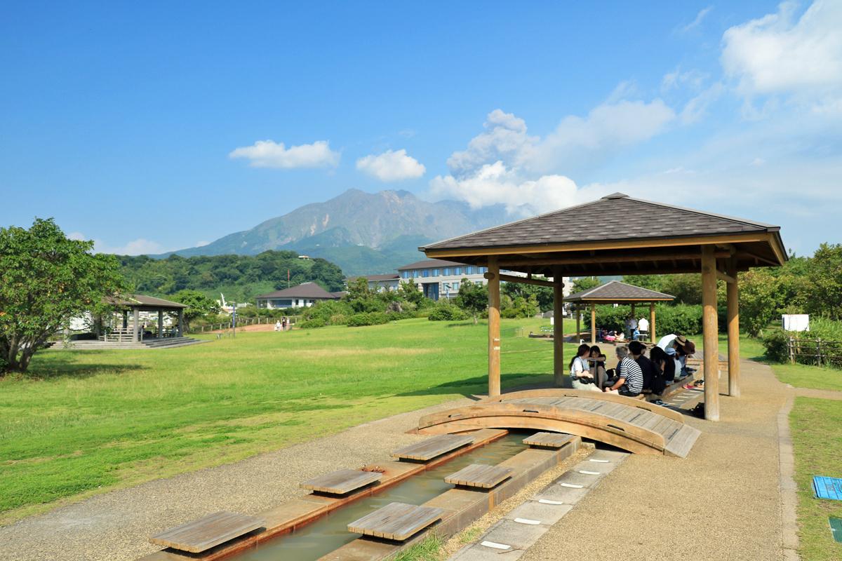 桜島港周辺の観光スポットを巡ってみよう