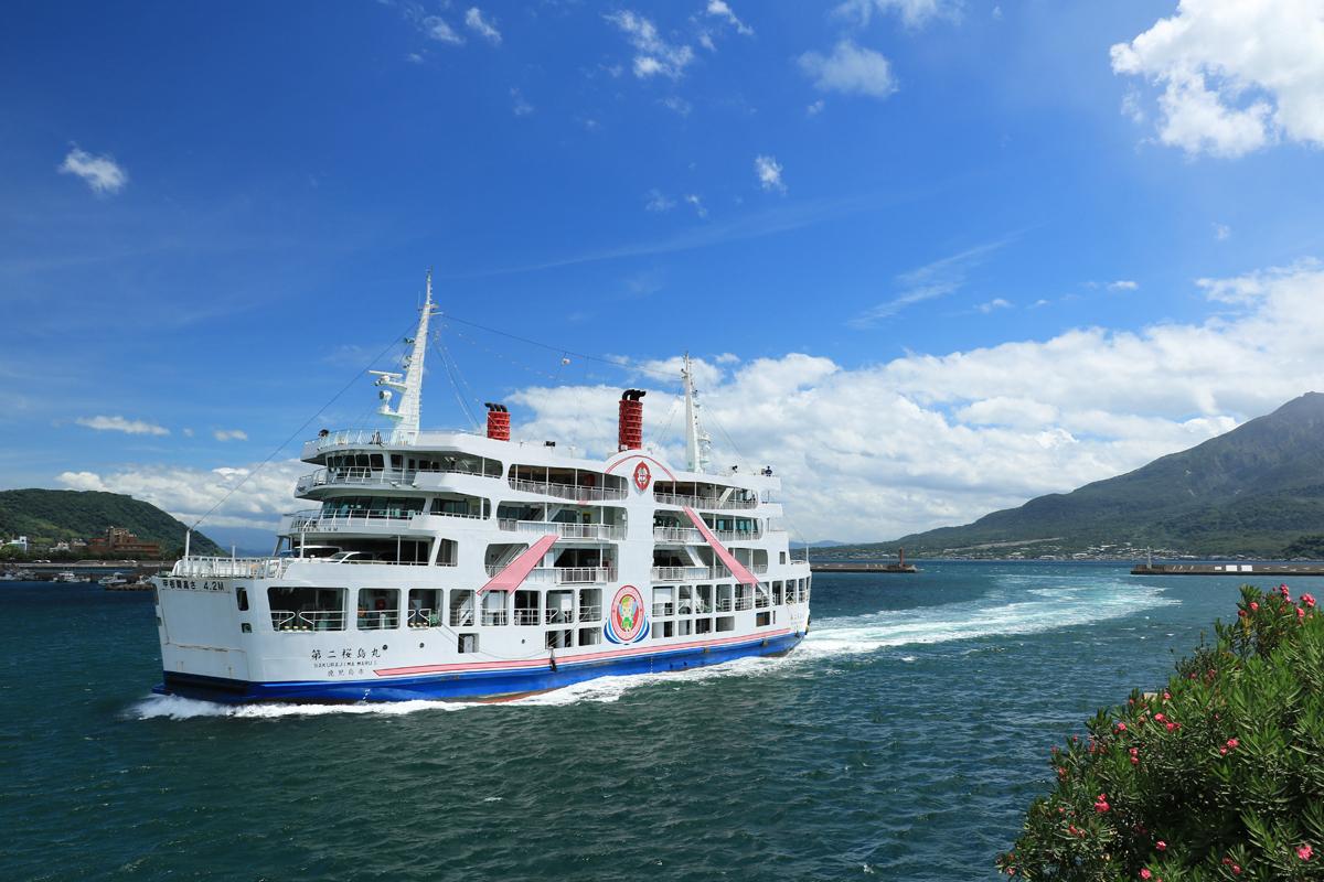 錦江湾の風景が旅情を誘う!桜島フェリーに乗ろう