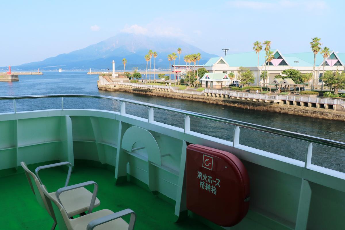 桜島フェリーそのものを観光として楽しもう!