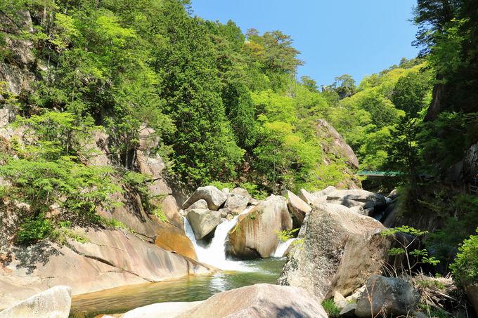 昇仙峡は国の特別名勝、全国でも有数の景勝地