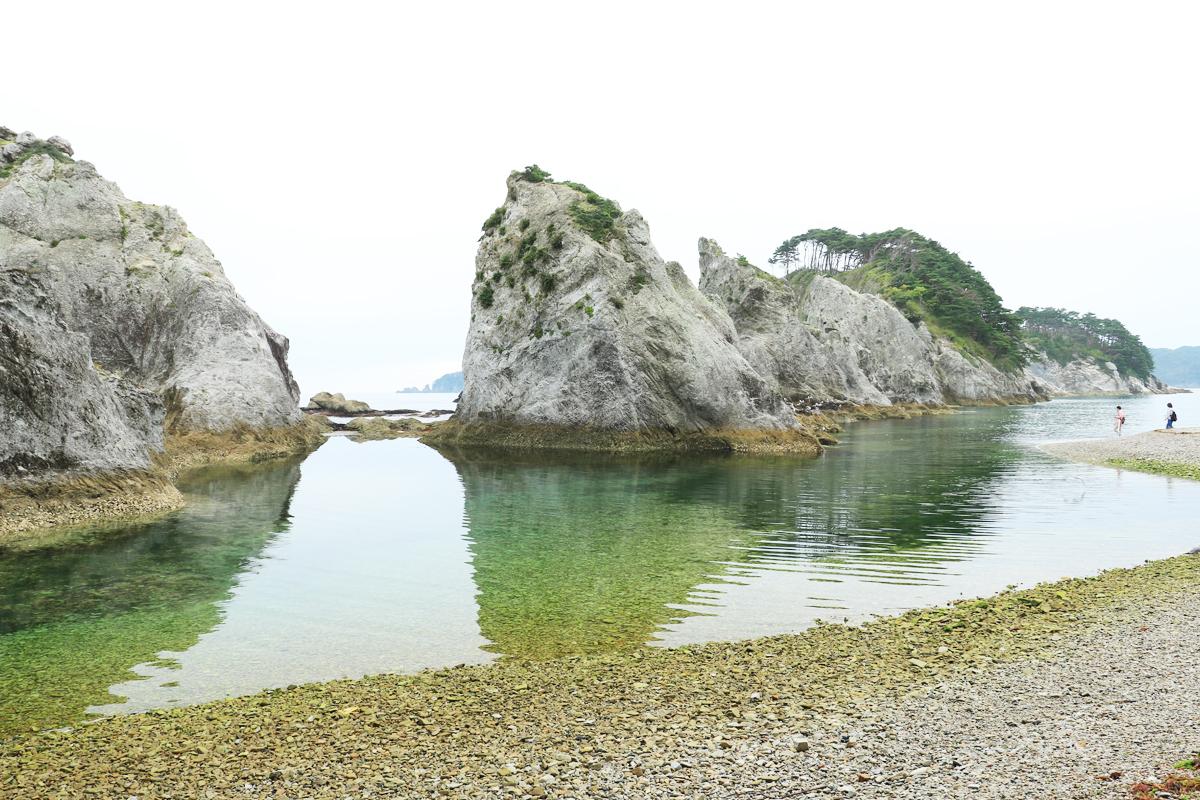 極楽浄土のようだと評された浄土ヶ浜