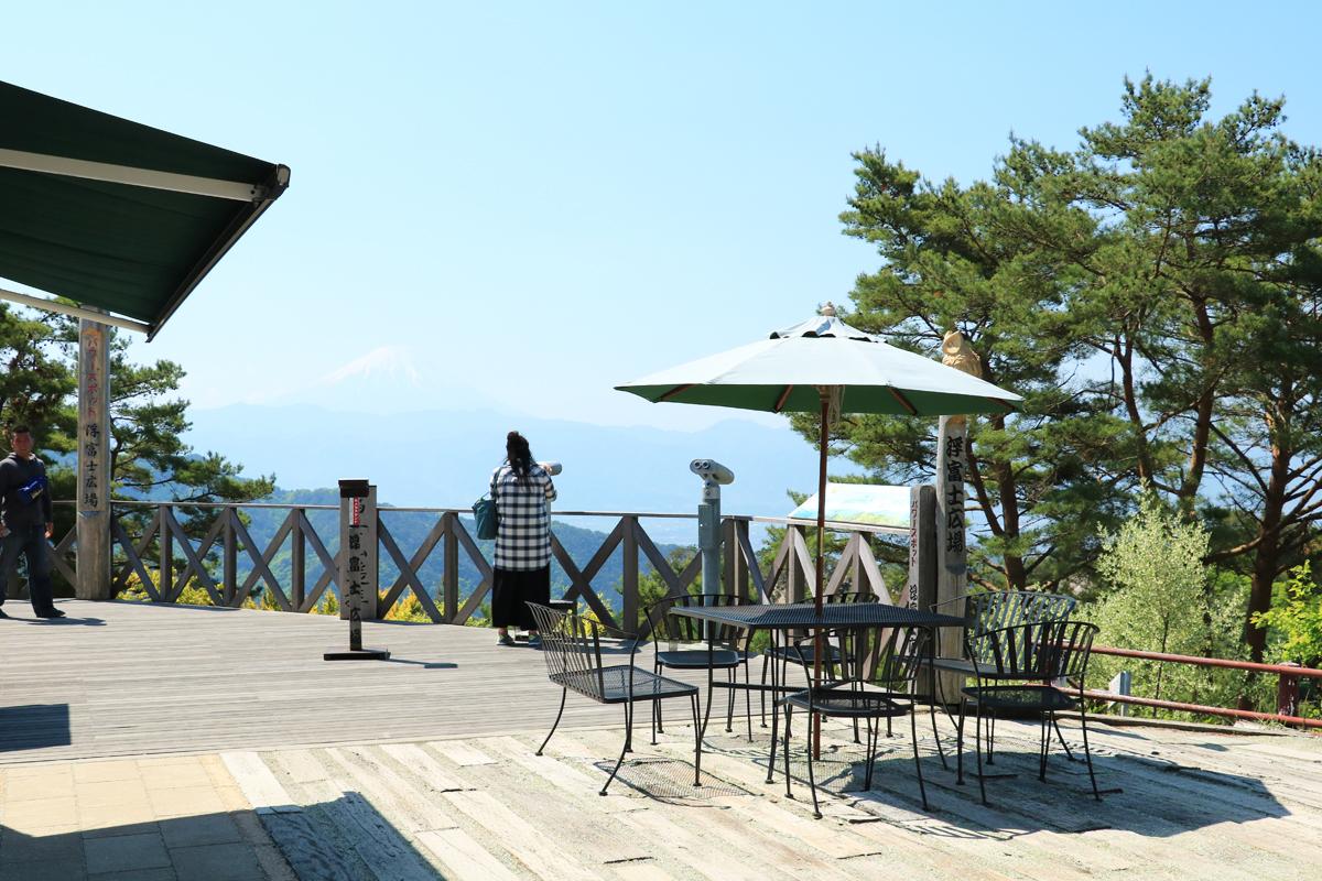富士山も見える!パノラマ台の眺望を楽しもう