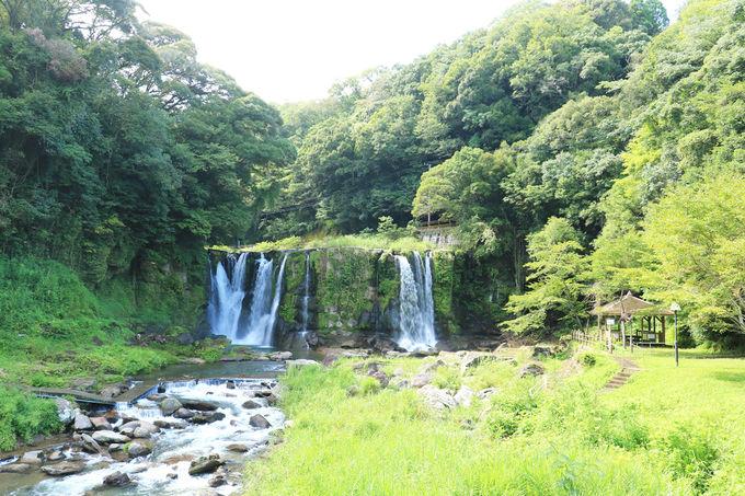 大自然の造形、桐原の滝を見よう!