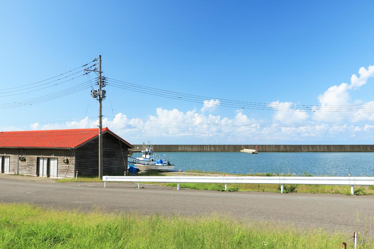 有間川漁港へも足を延ばそう