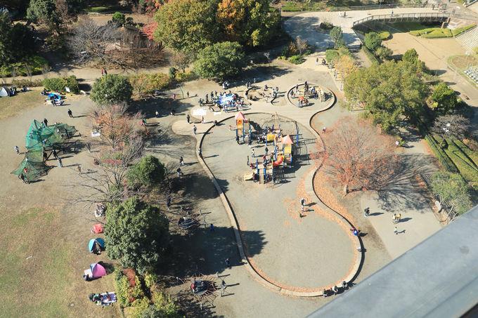 大男伝説を取り入れた造形が楽しい「子どもの広場」