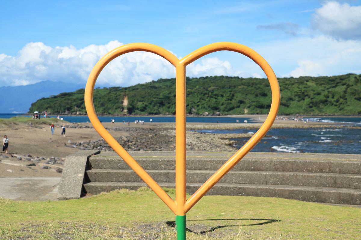 渡島証明書やハート形の貝・ハートのオブジェも!