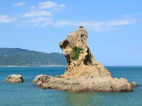 日南海岸で奇岩の景勝!宮崎「梅ヶ浜」でライオン岩を見よう