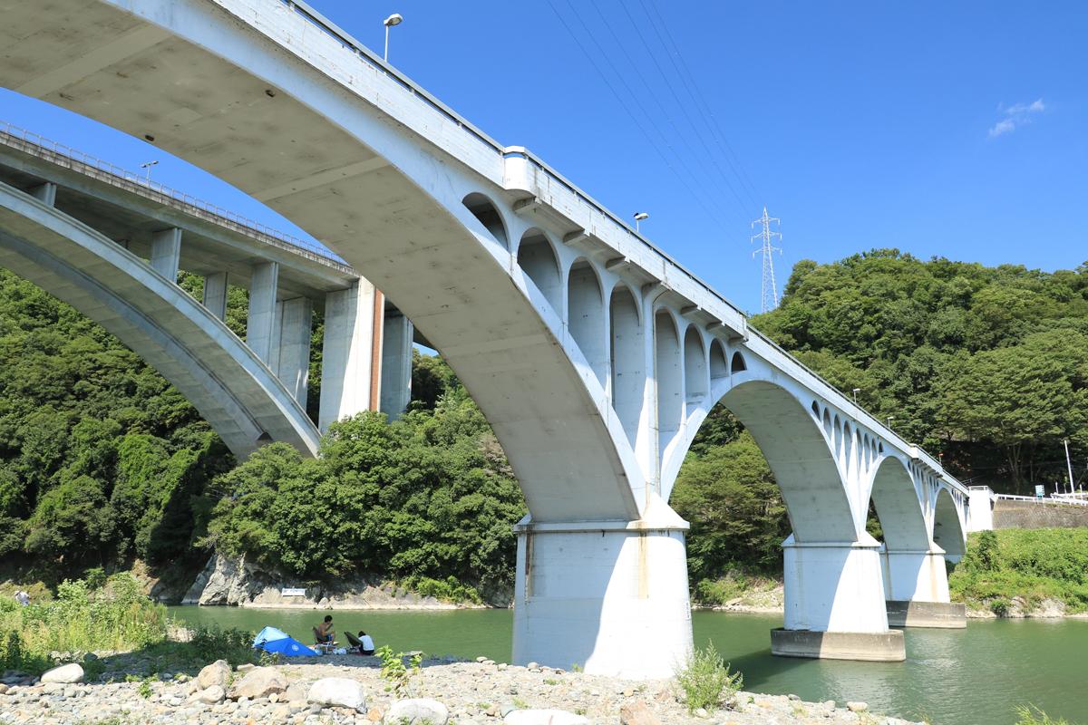 昭和初期に造られた美しい小倉橋