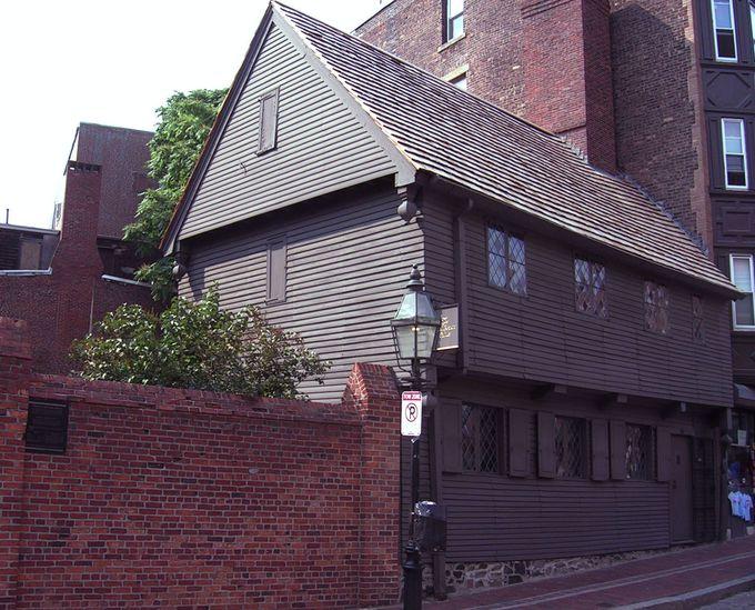 ポール・リビアの家