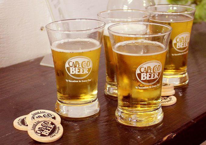 スモールブリューワリーでケープコッドならではのビールを飲む
