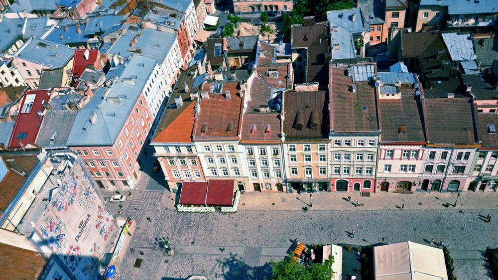 リヴィウ旧市街地