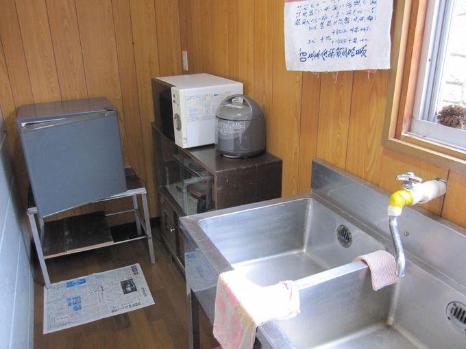 自炊が可能、湯治場でもある「旭館」