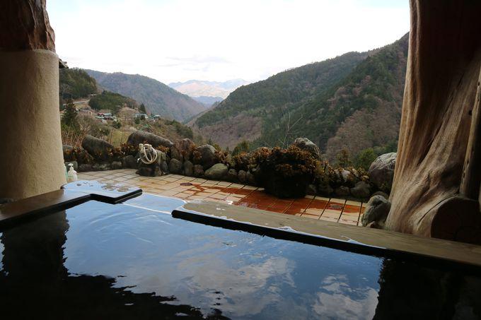 これが「山の湯」クオリティ!露天風呂で絶景を刮目せよ!