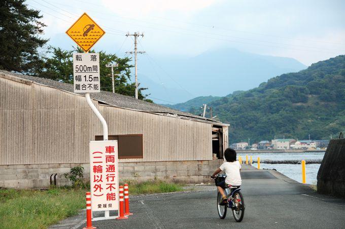 島内一周はのんびりサイクリングがおすすめ