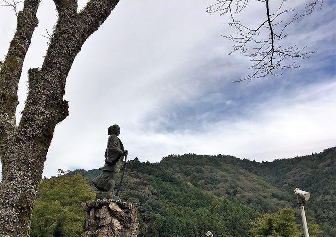 天誅組を率いた幕末の志士、吉村虎太郎の故郷