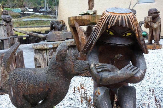 カッパ伝説が残る四万十奥地の奇想天外ミュージアム「海洋堂かっぱ館」