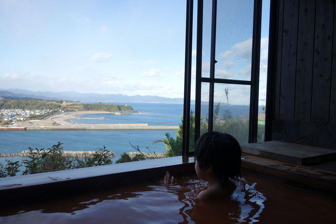 四国カルストから太平洋まで一望!源泉かけ流しの絶景風呂
