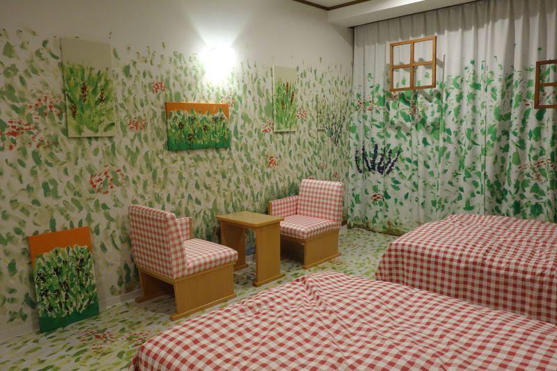 アートにのぼせる!道後温泉「道後プリンスホテル」だけの特別な4つのお部屋