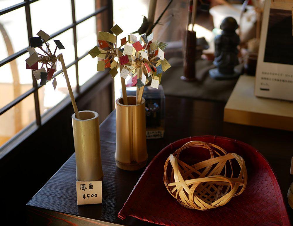 竹を切り出してつくる編組工芸「武工房」