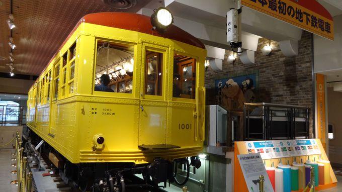 日本で初めて開業した地下鉄の車両