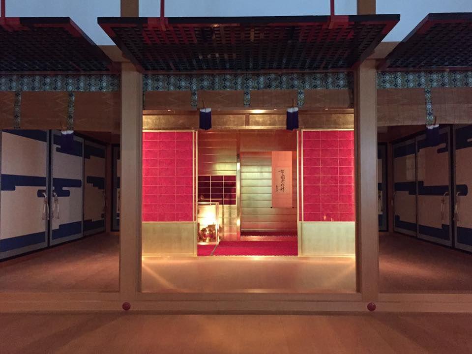 再現された黄金の茶室と日本の国宝を鑑賞できる!