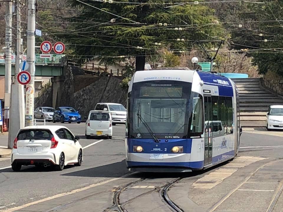 岡山市内を走る路面電車とは?