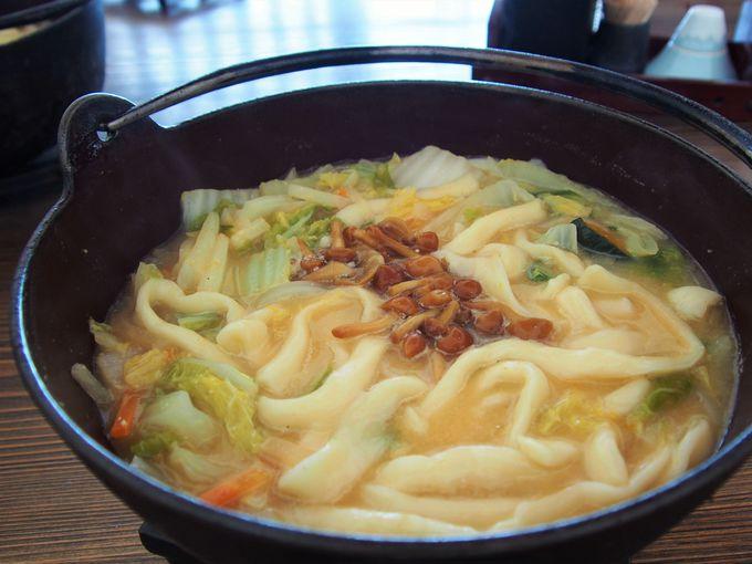 たっぷりの野菜がスープに溶け込む