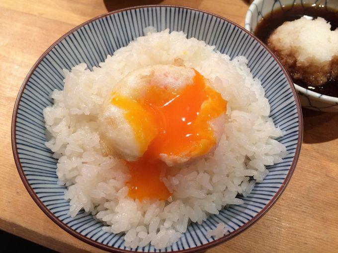 黄身があふれる絶品の玉子の天ぷら