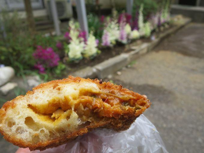 地元に愛される昔ながらのパン屋「日進堂」!揚げたてのカレーパンが本当に美味しい