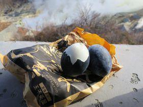 箱根・大涌谷で黒たまごを味わう!迫力満点の白い噴煙も必見
