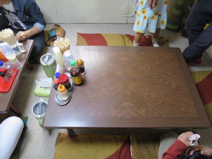 昔ながらの地元の食堂!座敷席があるのも嬉しい