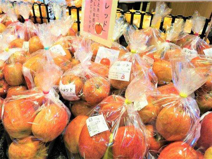 新鮮野菜や果物がとっても豊富な「ファーマーズマーケット」
