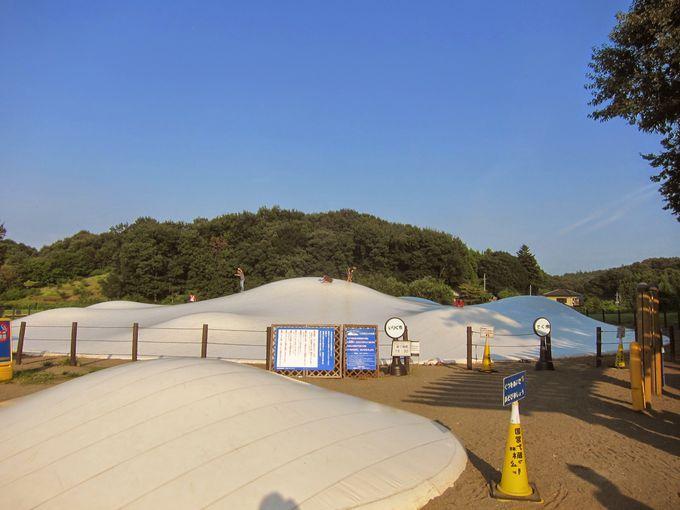 日本一巨大なフワフワドーム