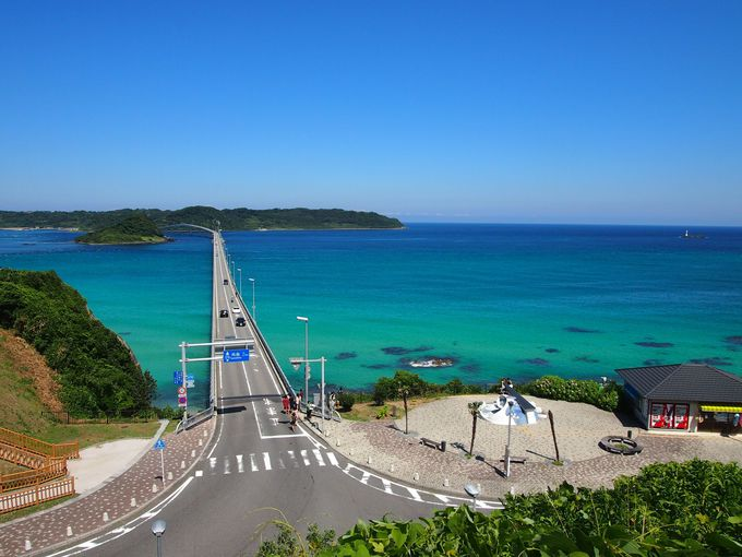 GWは絶景ドライブだ!日本の橋ランキングの常連「角島大橋」(山口)