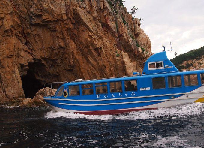 船のコースは当日までお楽しみ!