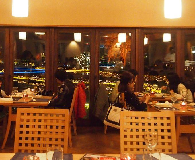 なばなの里の入園チケットを使えば、美味しいディナーを1000円引きで!