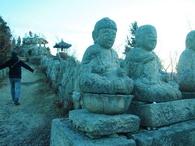 6.白滝山「五百羅漢像」