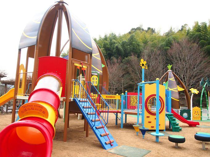 人気の遊具がリニューアル!子供の広場