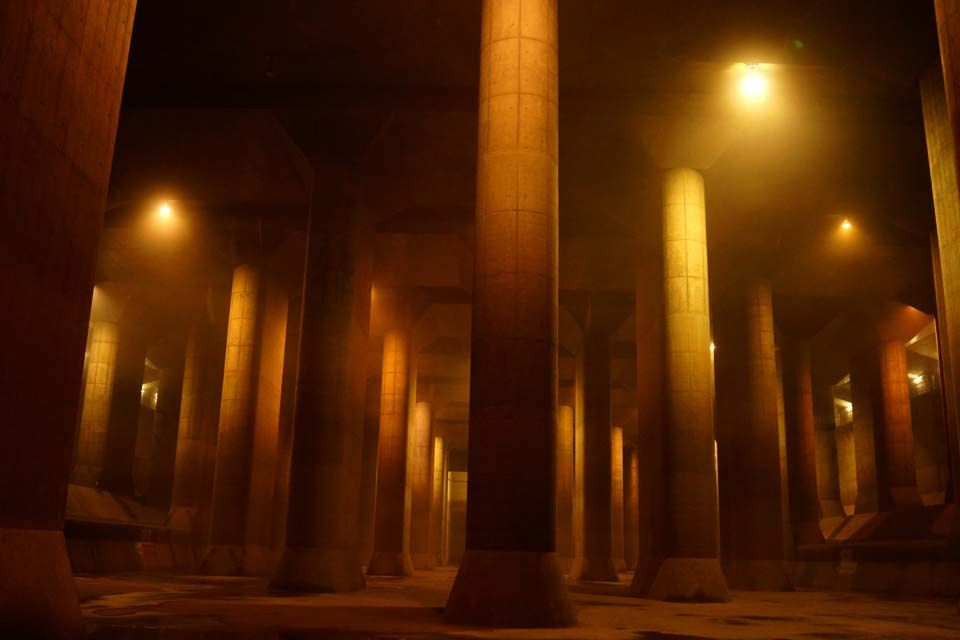 地下神殿という異名は伊達ではない