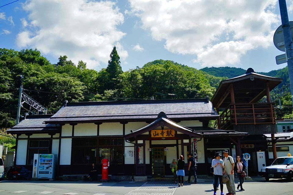 山寺駅や山寺登山口からの徒歩移動も十分に可能