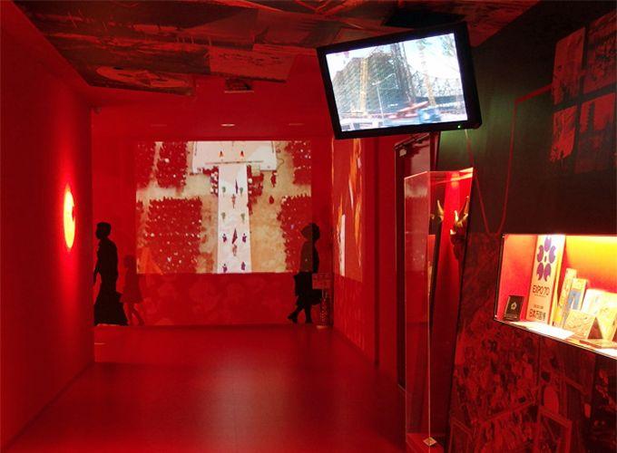 常設展の映像・資料で、半世紀前の万博会場にタイムスリップ!
