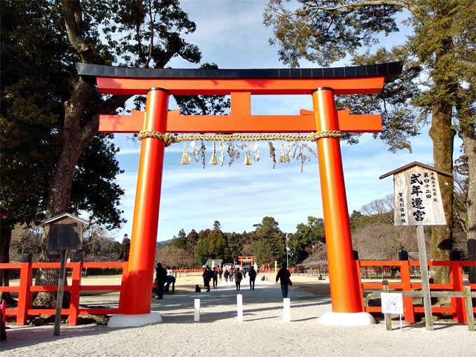 午前:バス利用必須な「上賀茂神社」からスタート!