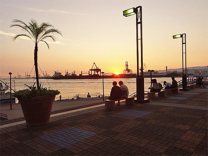 大阪は夕陽の都!夕暮れの絶景が見られるベイエリアスポット5選